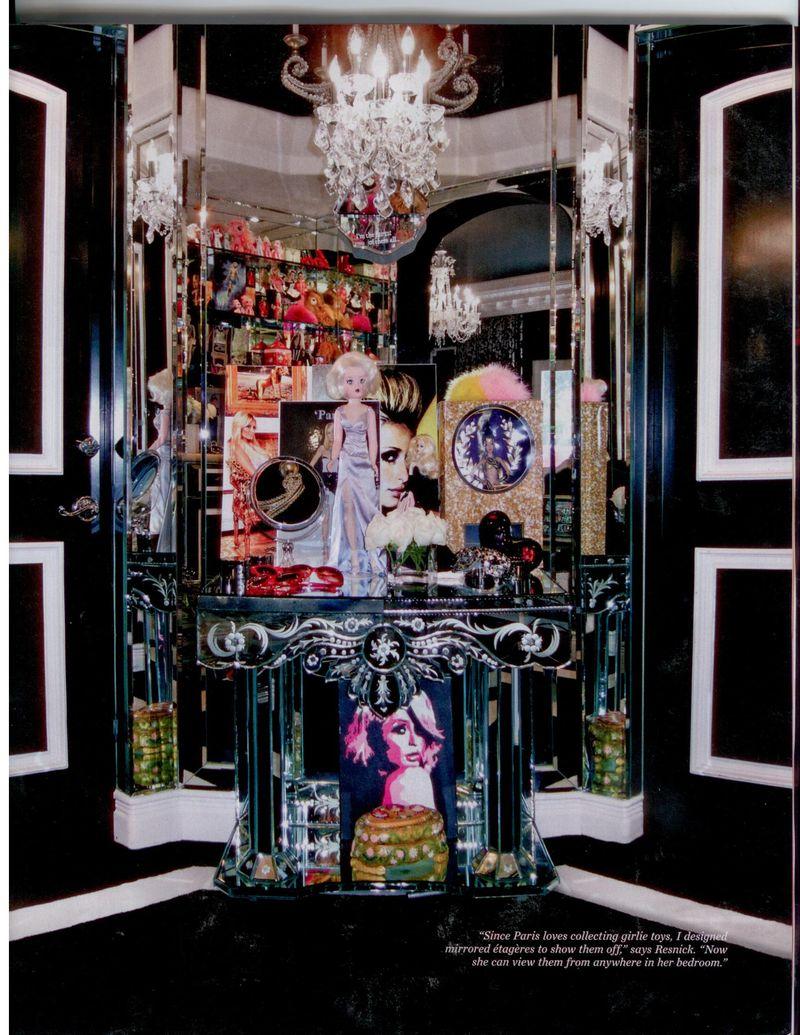 InStyle Inside Paris  Beverly Hills Mansion. Paris Hilton