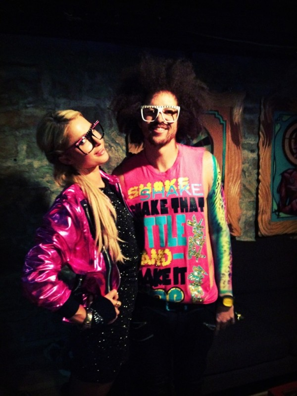 Backstage-before-the-show-with-redfoo-in-our-partyrockgear-imsexyandiknowit-paris-hilton-600x800